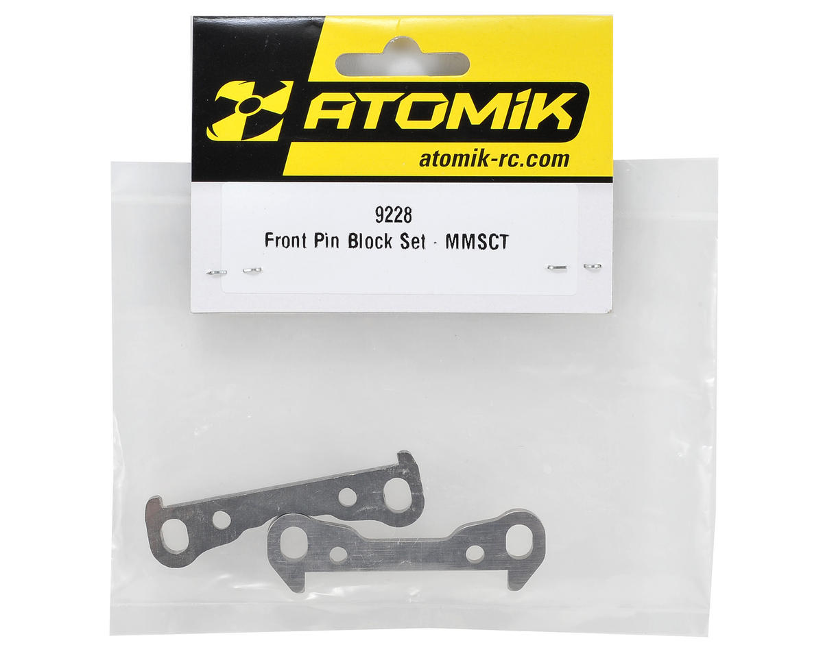 Atomik RC Front Suspension Block Set