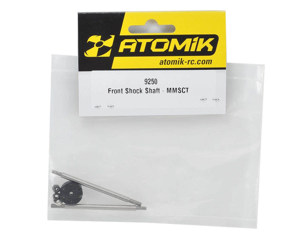 Atomik RC Front Shock Shaft Set