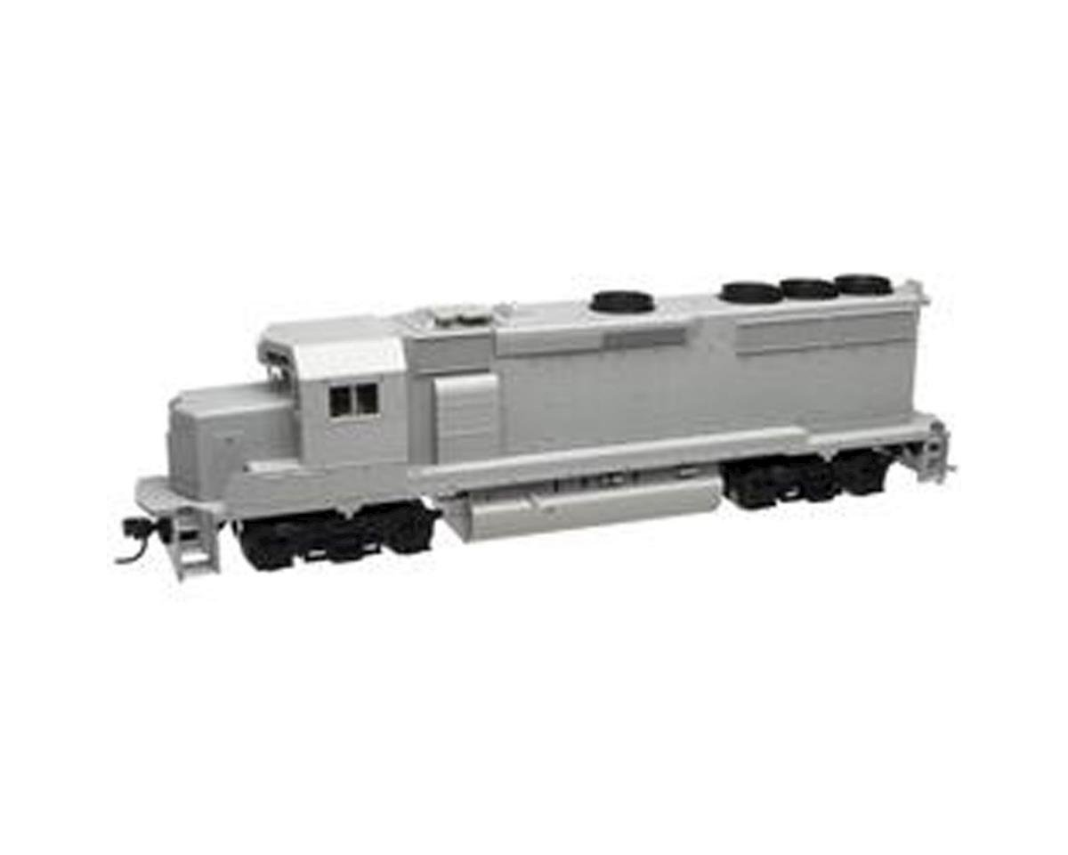 Atlas Railroad HO GP40-2 Phase II, Undecorated/SP style