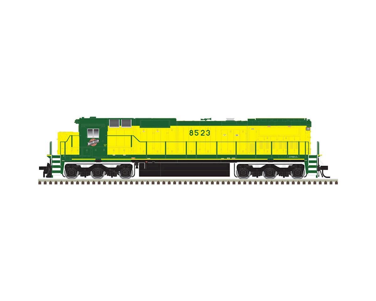 Atlas Railroad HO Dash 8-40C w/DCC & Sound, C&NW #8531