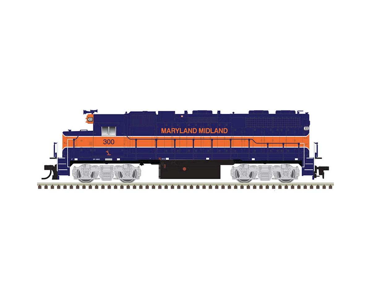 Atlas Railroad HO GP38, Maryland Midland #302