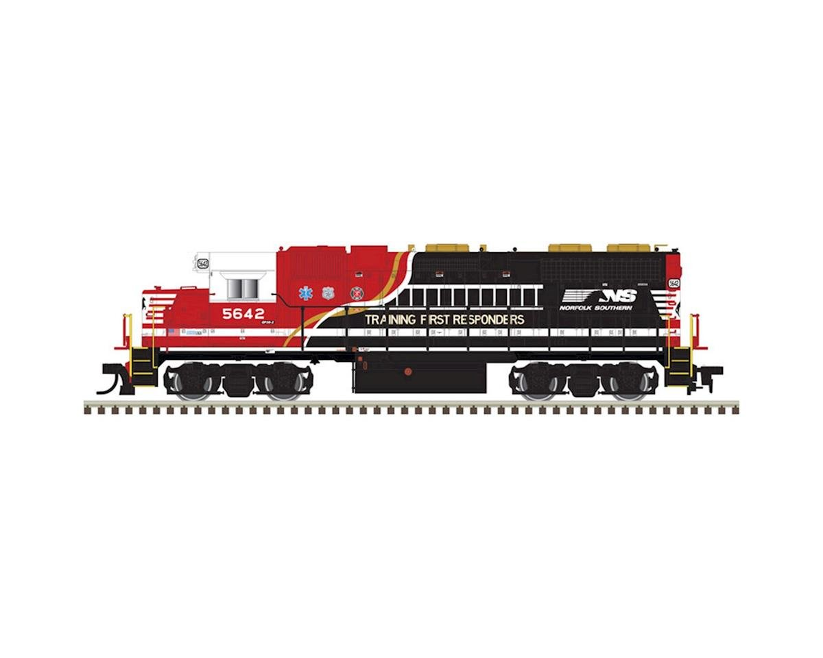 Atlas Railroad HO GP38 w/DCC & Sound, NS/First Responders #5642