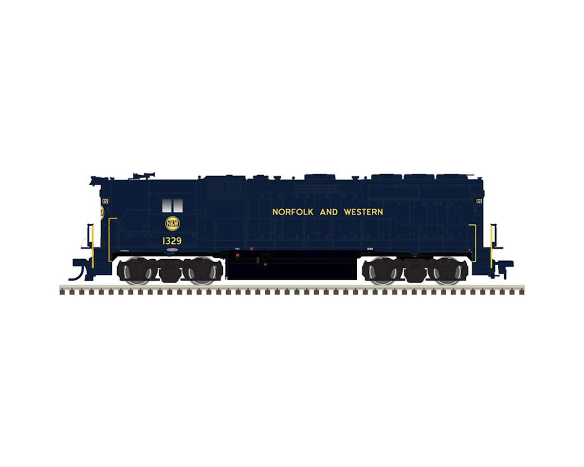 Atlas Railroad HO GP40 w/DCC & Sound, N&W #1329