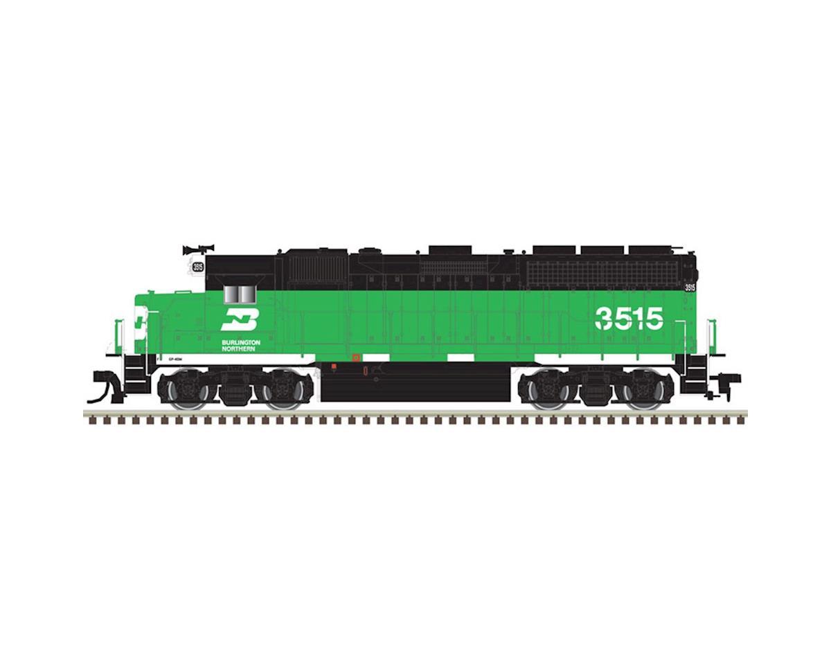 Atlas Railroad HO GP40 w/DCC & Sound, BN #3522
