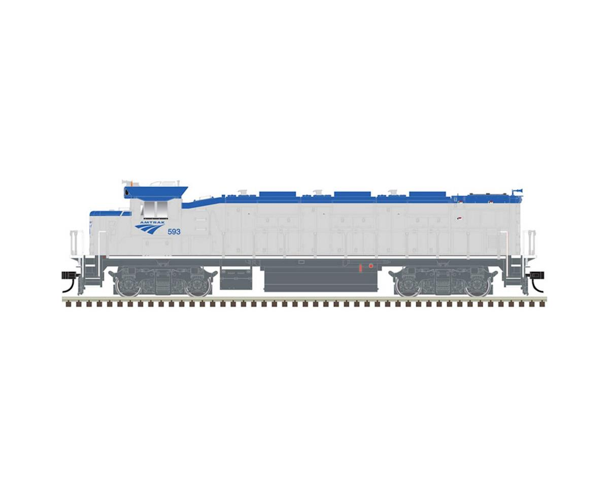 Atlas Railroad HO Trainman NRE Genset II, AMTK #592
