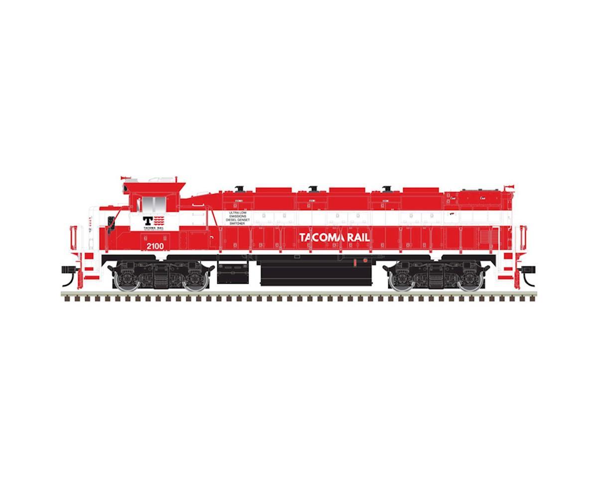 Atlas Railroad HO Trainman NRE Genset II, Tacoma Rail #2100