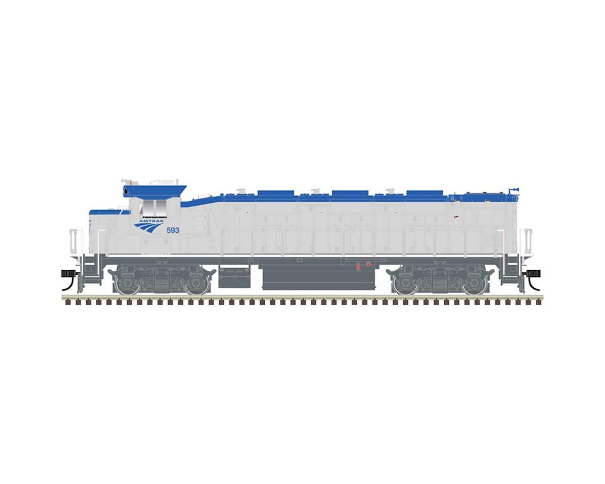 HO Trainman NRE Genset II w DCC & Sound AMTK #593