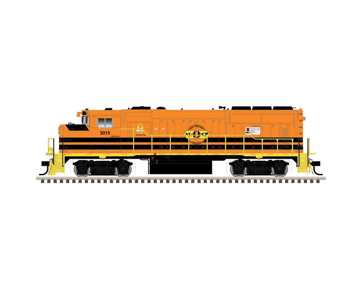 Atlas Railroad HO GP40-2W w/DCC/SND, New England Central #3015