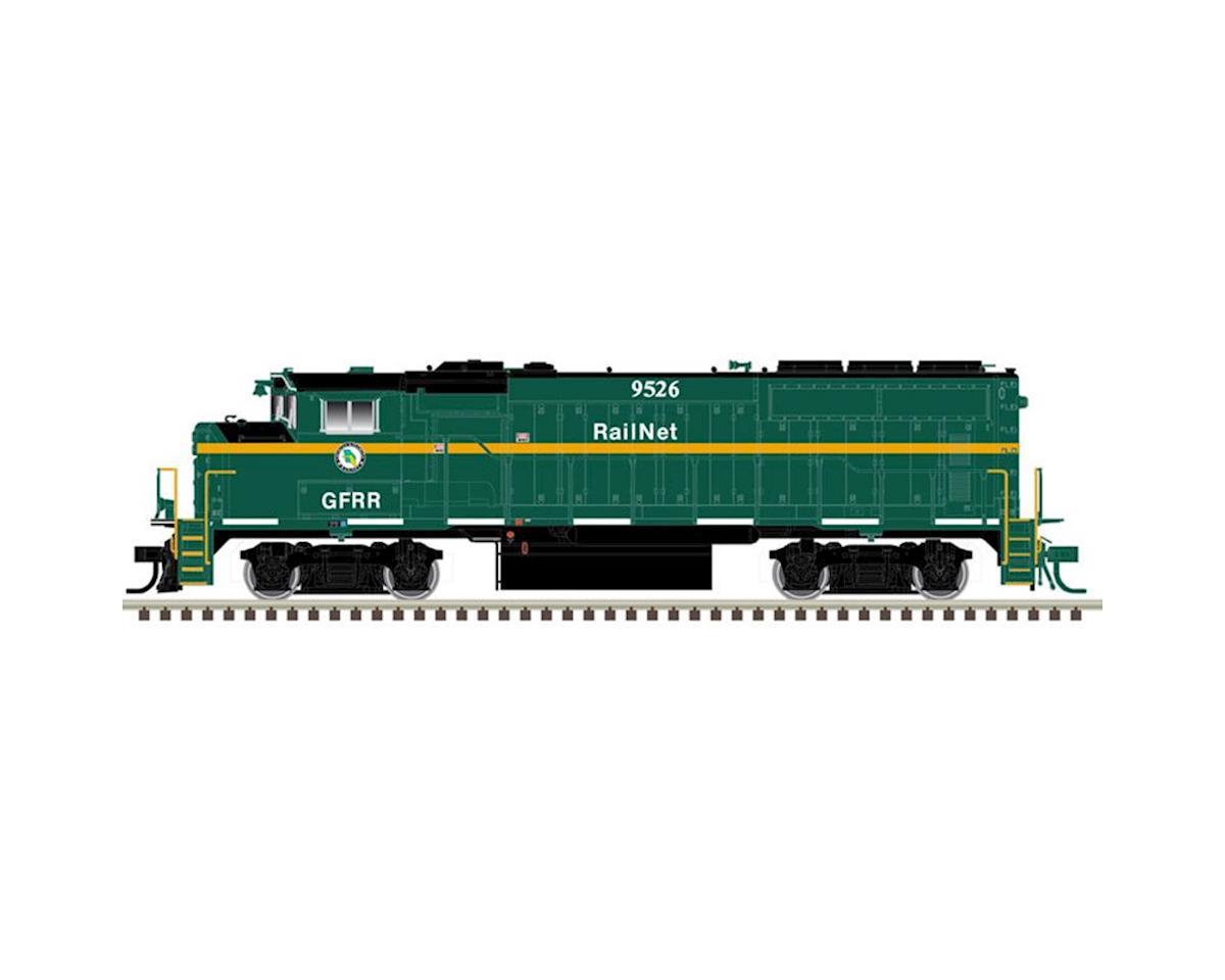 Atlas Railroad HO GP40-2W/DCC/SND, Georgia & Florida Railnet#9459