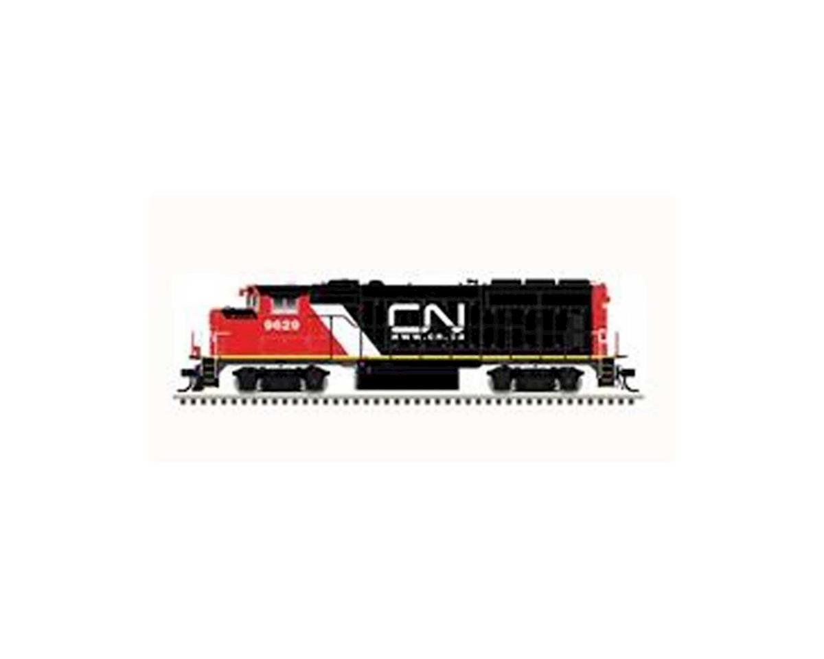 Atlas Railroad HO GP40-2W w/DCC & Sound, CN #9629