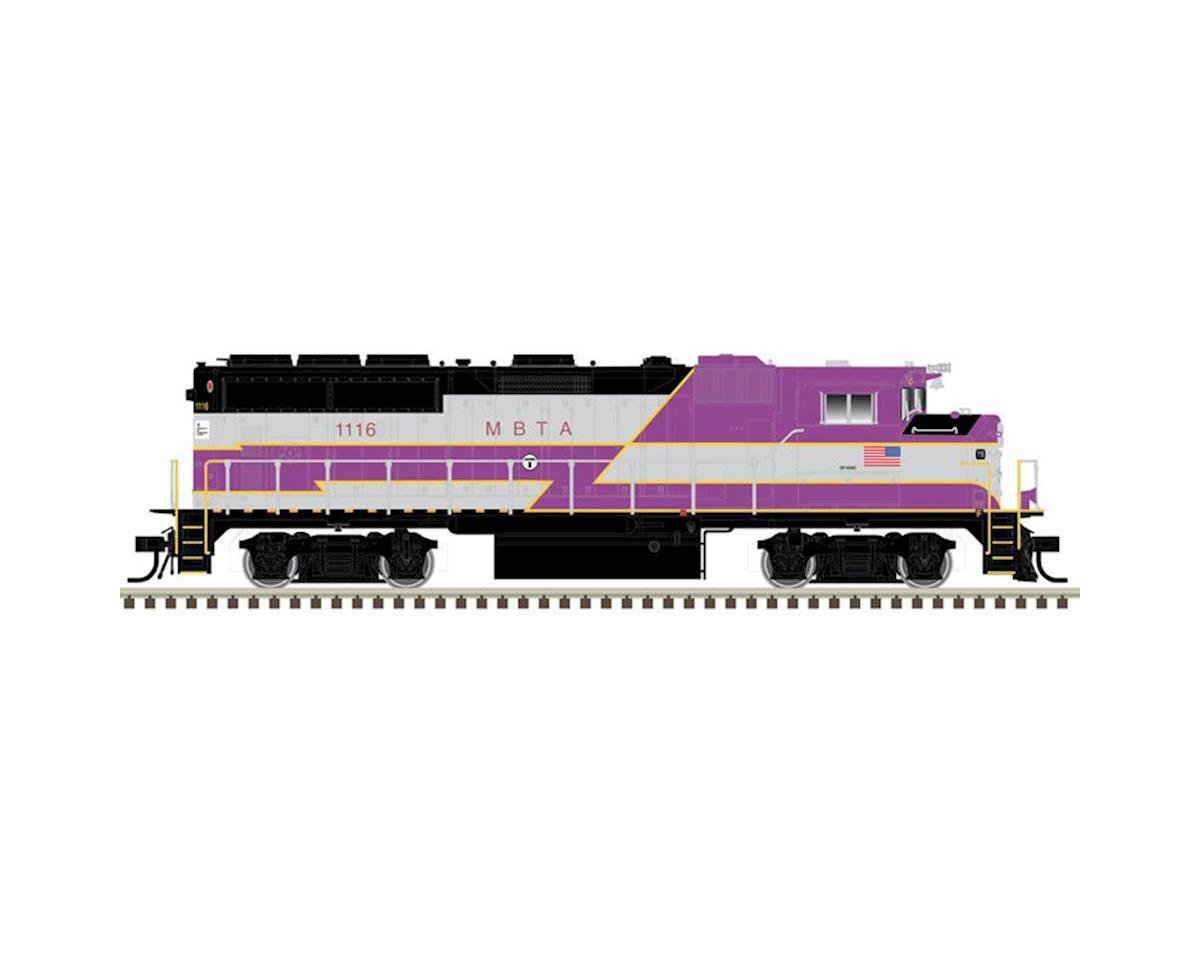 Atlas Railroad HO GP40-W w/DCC & Sound, MBTA #1122