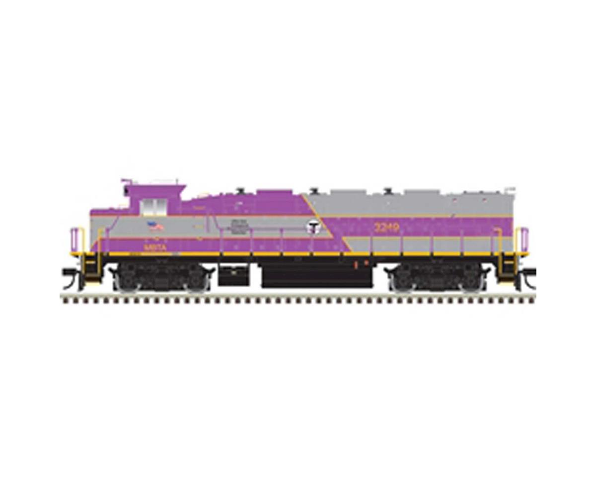 Atlas Railroad HO Trainman NRE Genset II w/DCC & Sound,MBTA #3248