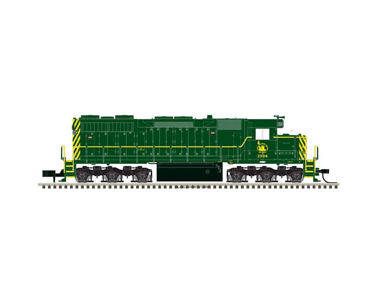 Atlas Railroad HO SD35 w/DCC & Sound, CNJ #2502
