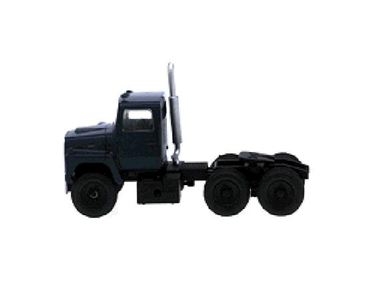 Atlas Railroad HO Ford 9000 Tractor, Dark Blue