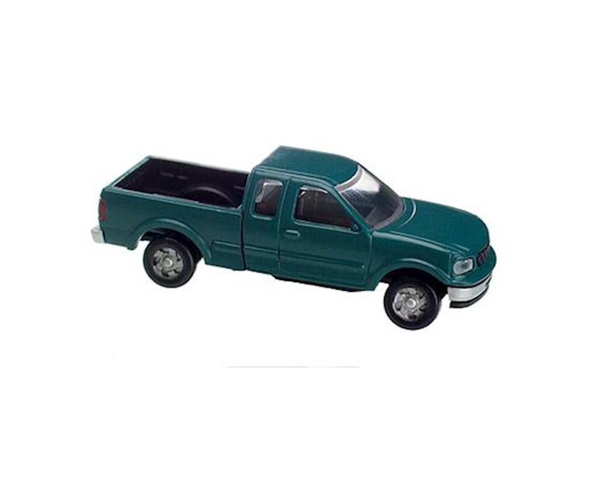 Atlas Railroad HO Ford F-150 Pickup, Green