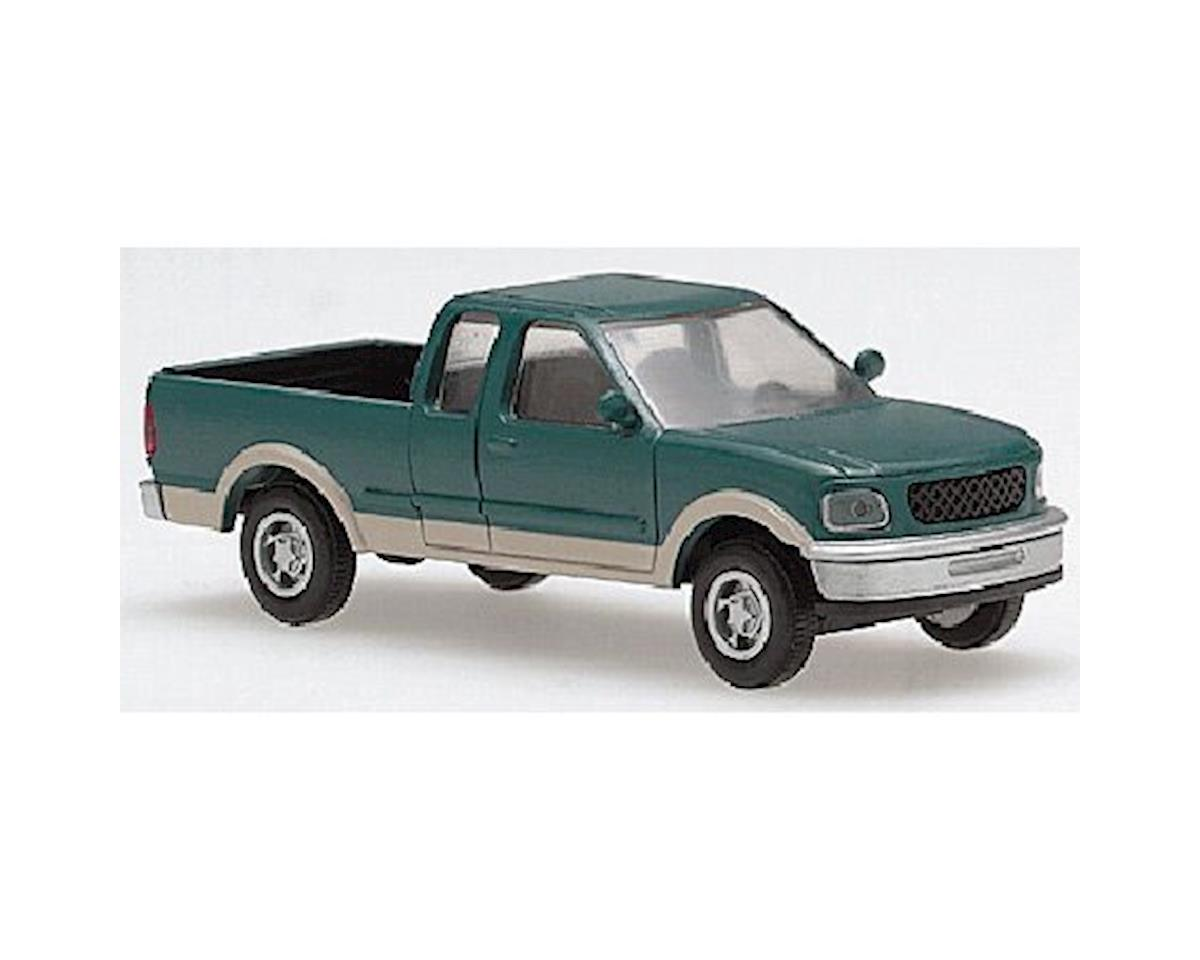 Atlas Railroad HO Ford F-150 Pickup, Green/Tan