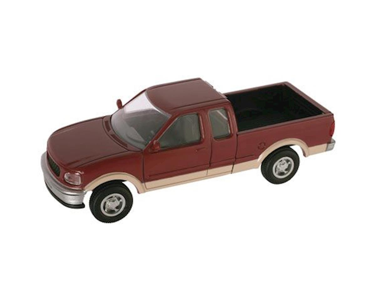 HO Ford F-150 Pickup, Red/Tan by Atlas Railroad