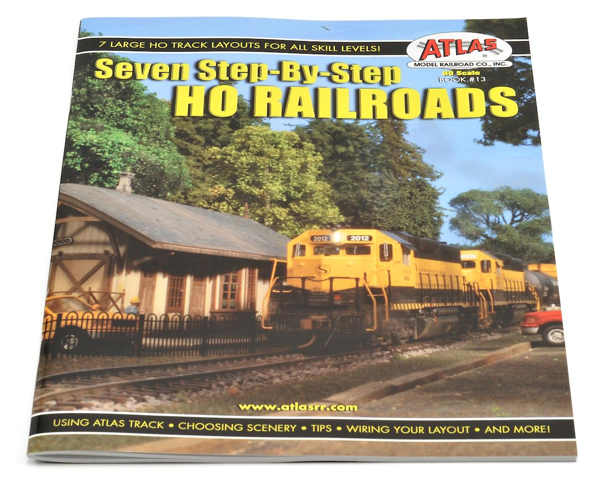"Atlas Railroad ""7 Step-By-Step HO Railroads"" Book"