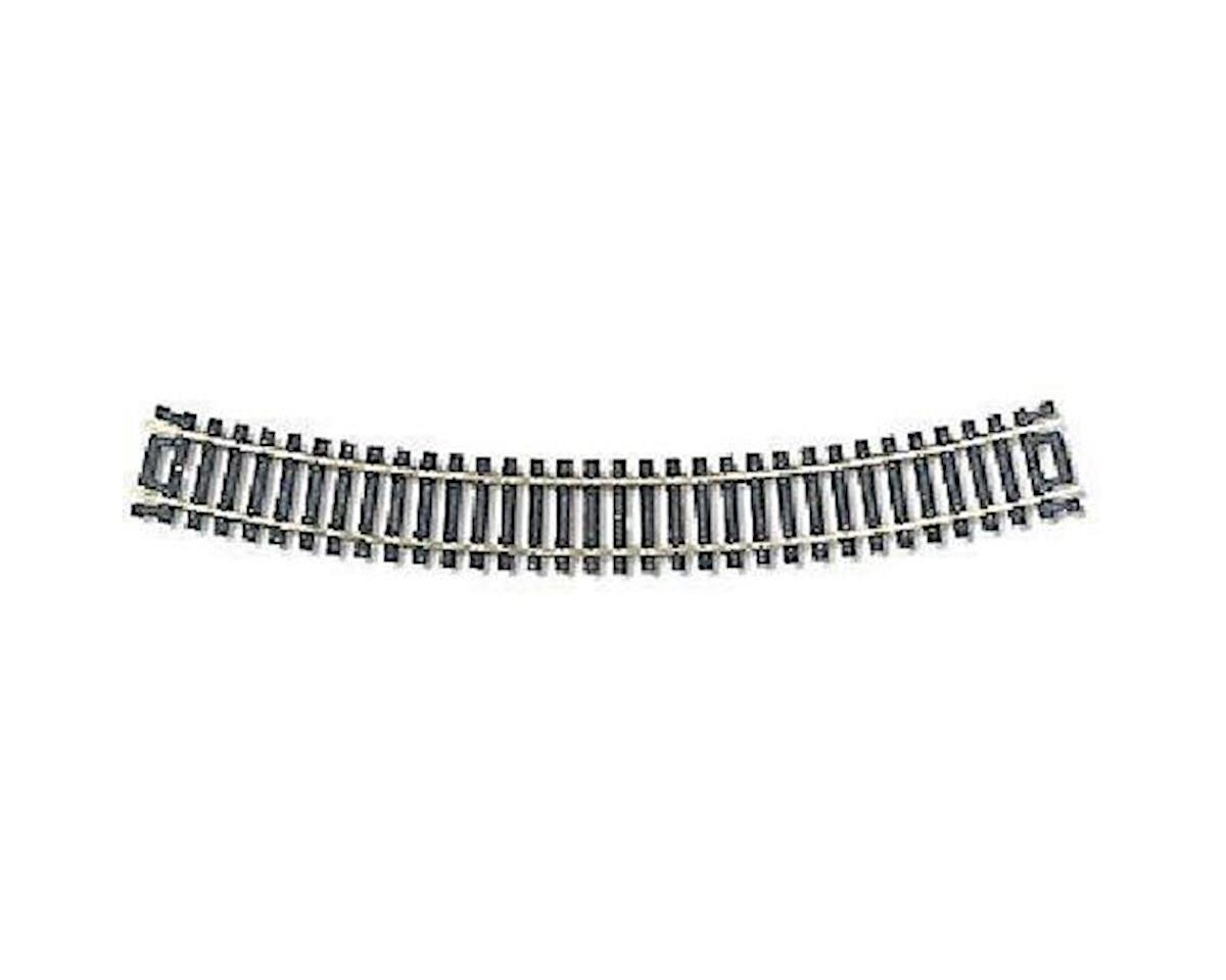 "Atlas Railroad  HO Code 100 Nickel Silver 18"" Radius Snap Track"