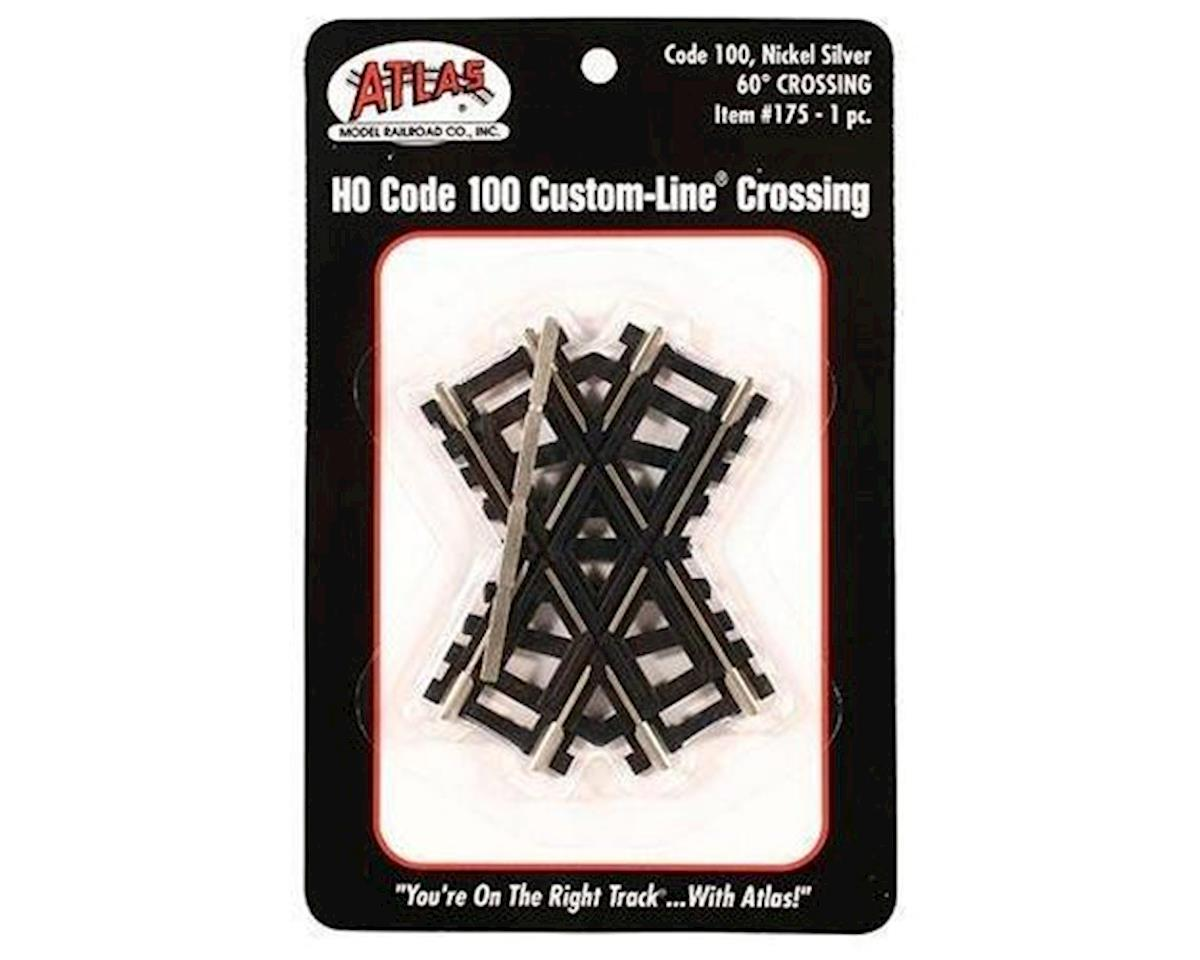 Atlas Railroad HO Code 100 60-Degree Custom Crossing