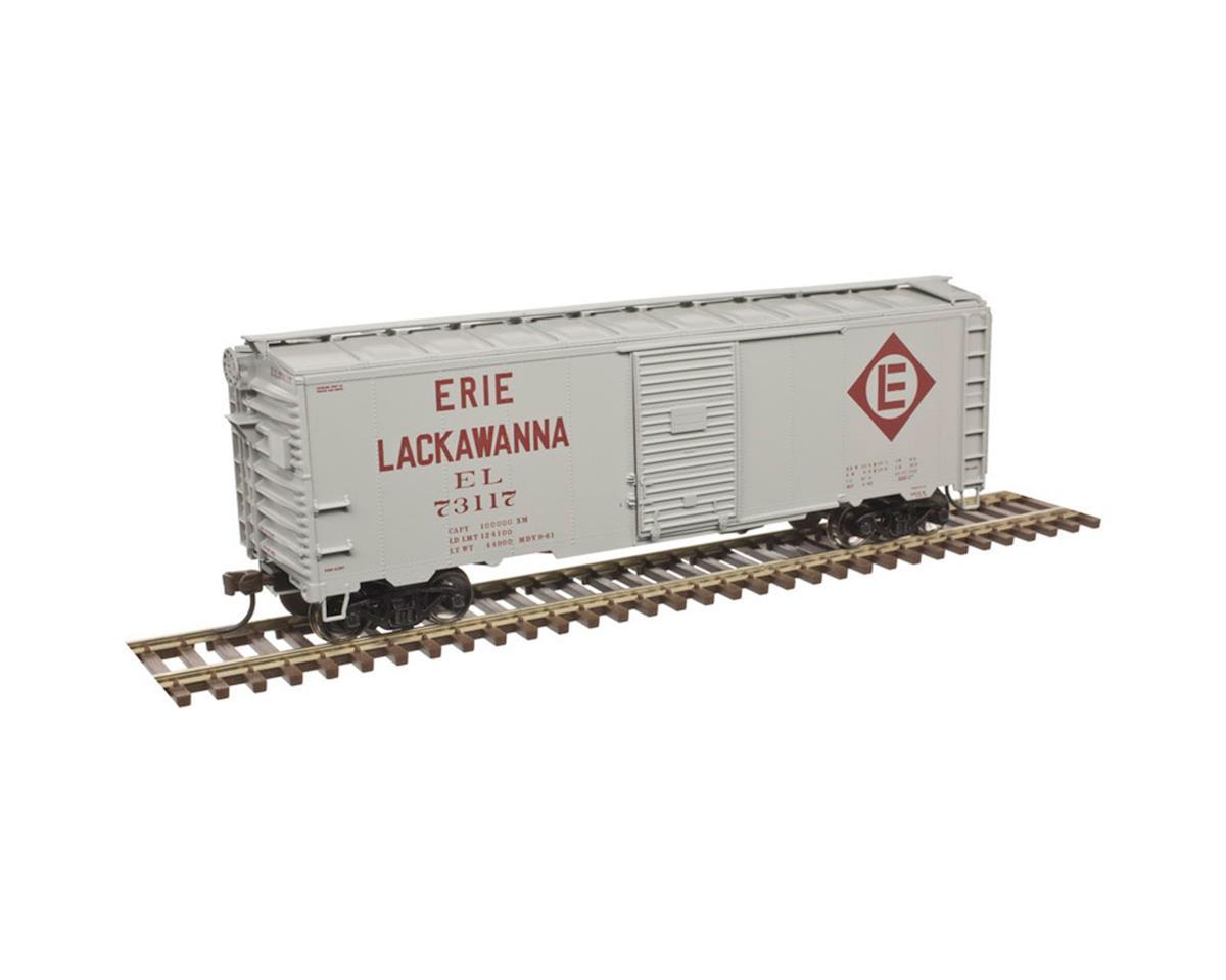 HO Trainman KIT 1937 40' Box, EL #73117 by Atlas Railroad