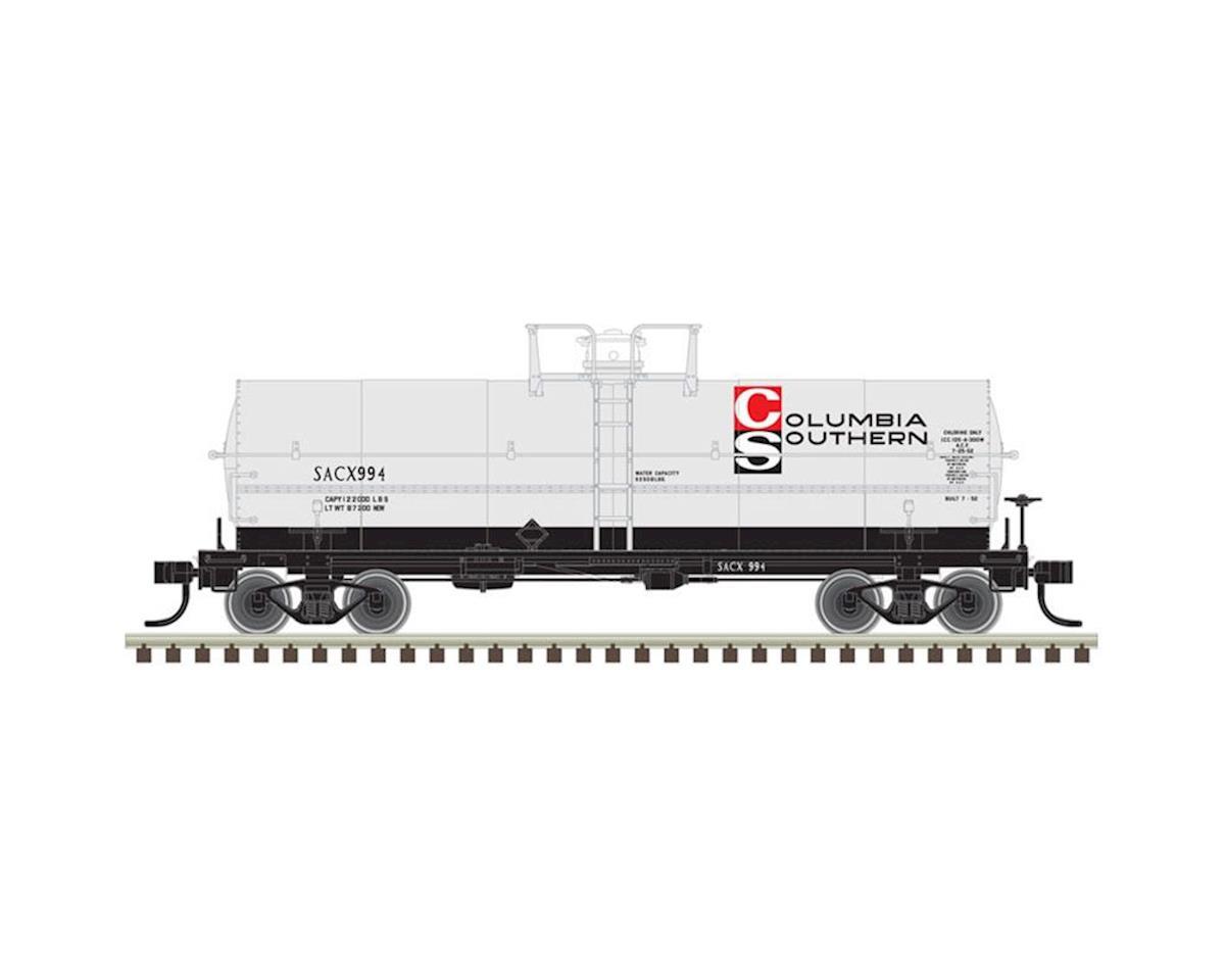 Atlas Railroad HO 11,000-Gallon Tank, Columbia Southern #999