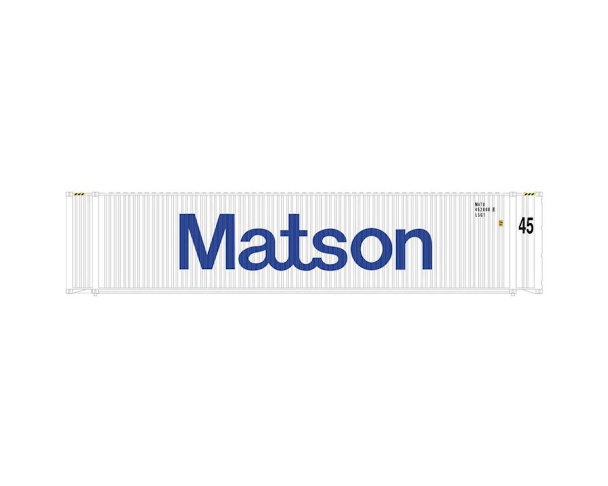 Atlas Railroad HO 45' Container, Matson Set #1 (3)