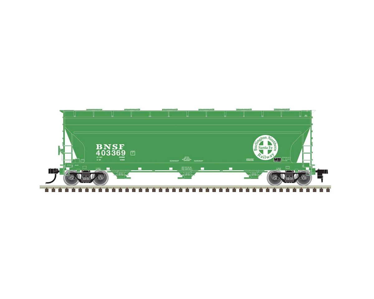 Atlas Railroad HO 4650 Centerflow Hopper, BNSF #403369