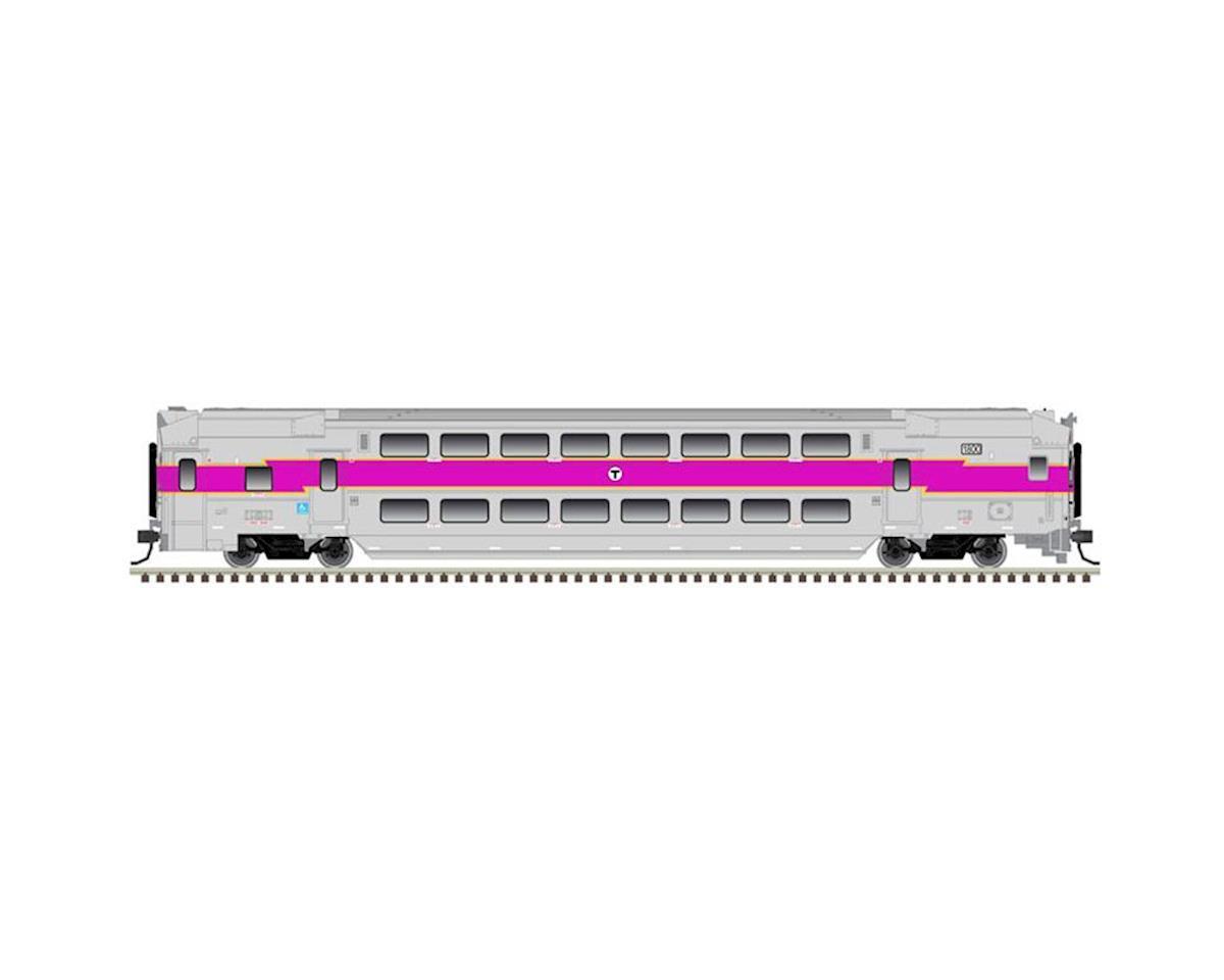 Atlas Railroad HO Multi-Level Commuter Cab, MBTA #1810