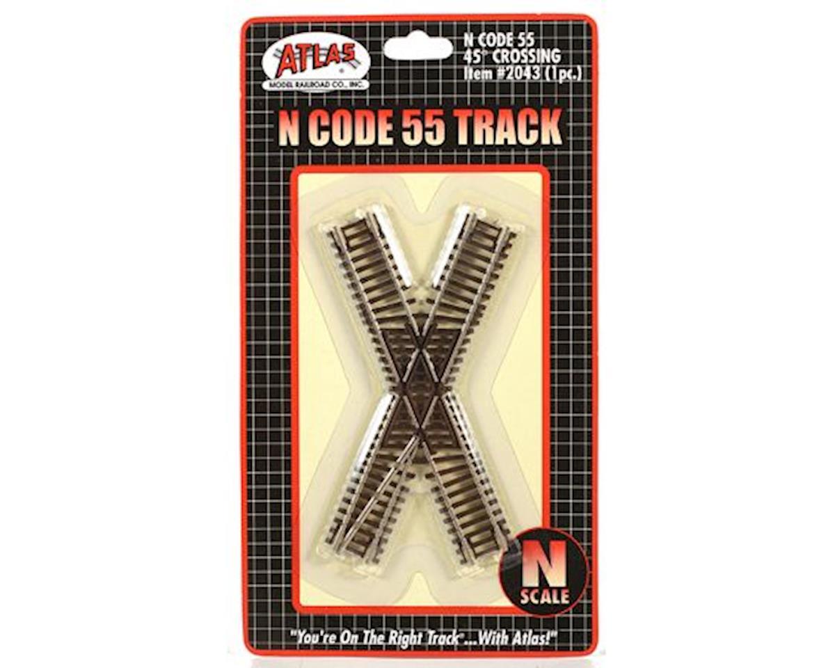 N Code 55 45 Degree Crossing by Atlas Railroad
