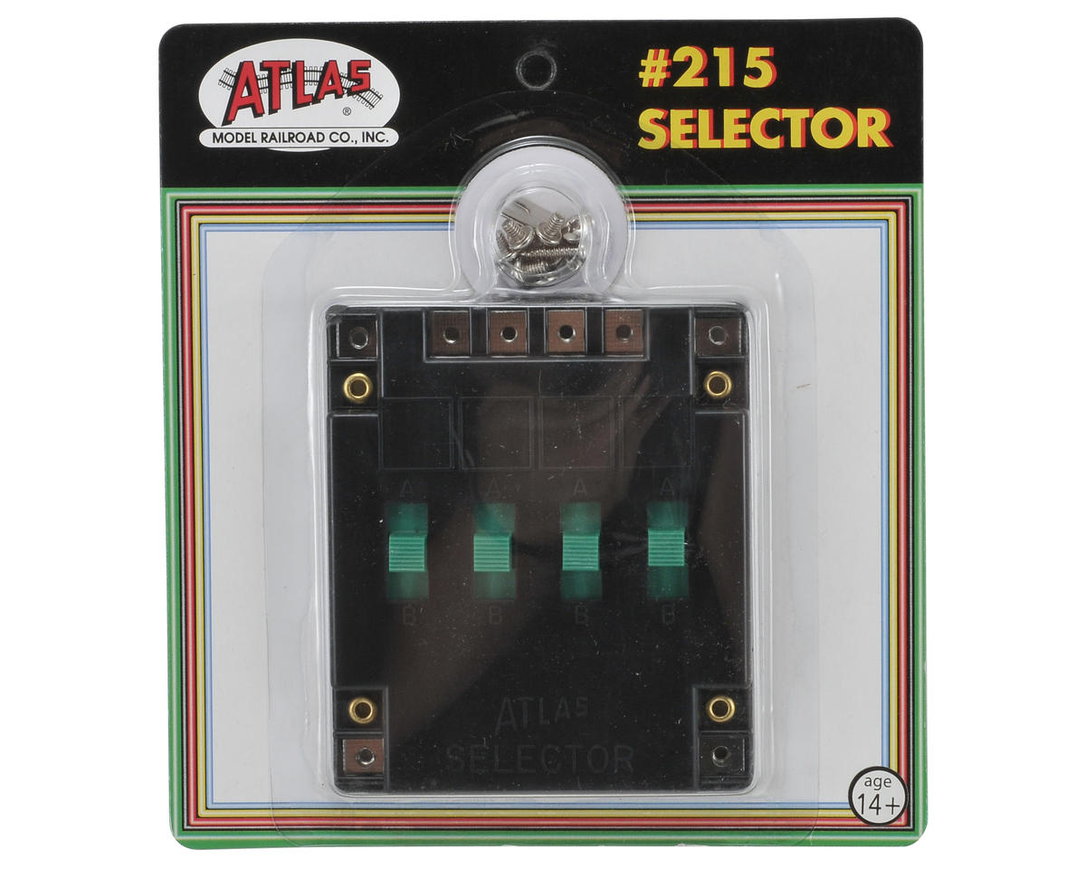 Atlas Model Railroad Switch Selector