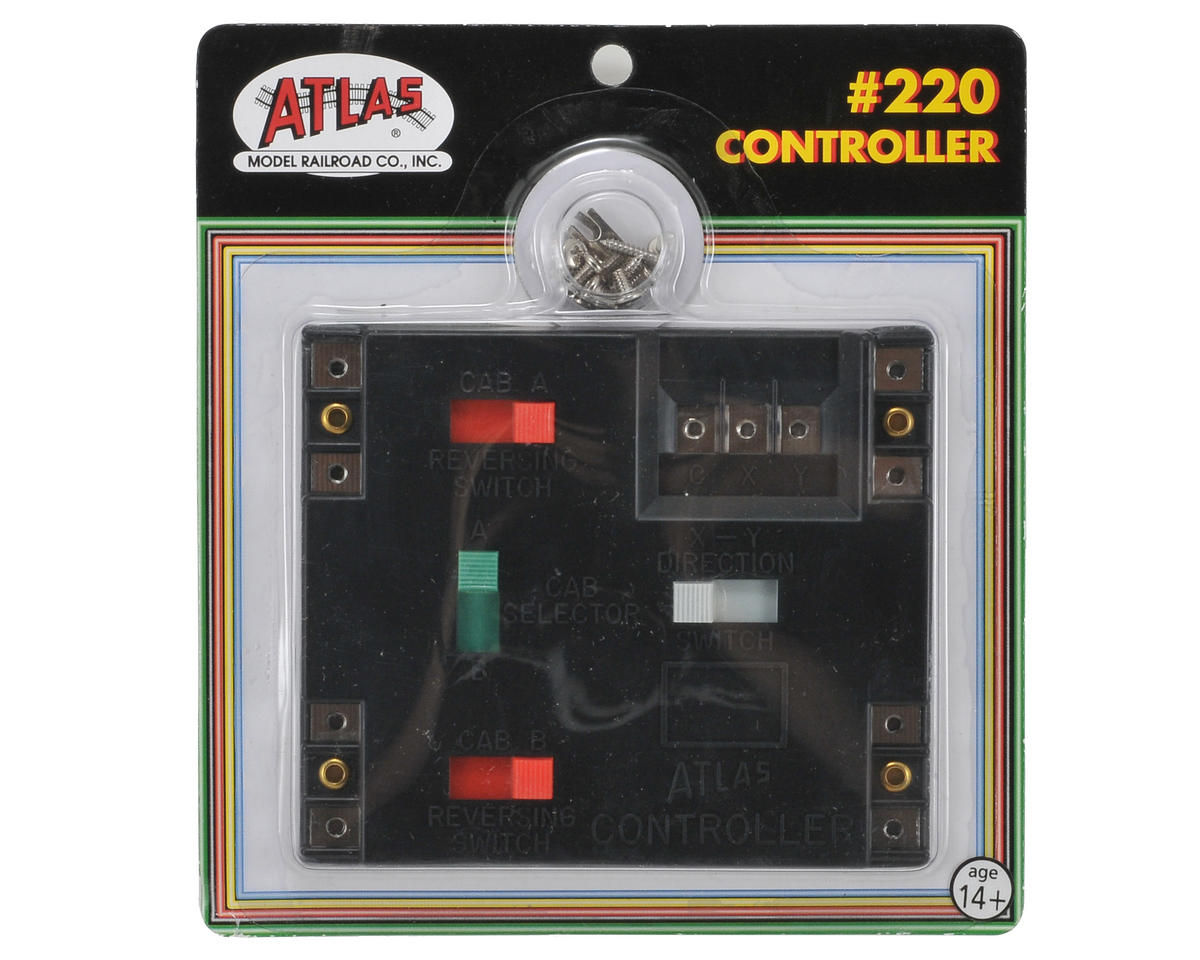 Atlas Model Railroad Switch Controller