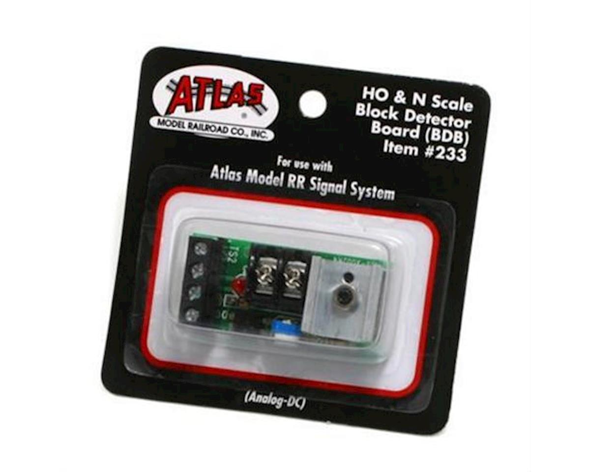 Atlas Railroad HO/N Analog Block Detector