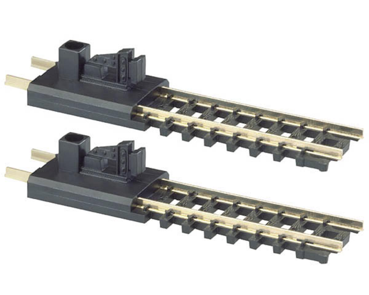 Atlas Model Railroad N-Gauge Code 80 Snap-Track Bumper (2)