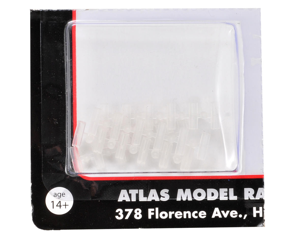 Atlas Model Railroad N-Gauge Code 80 Insulated Rail Joiners (30)