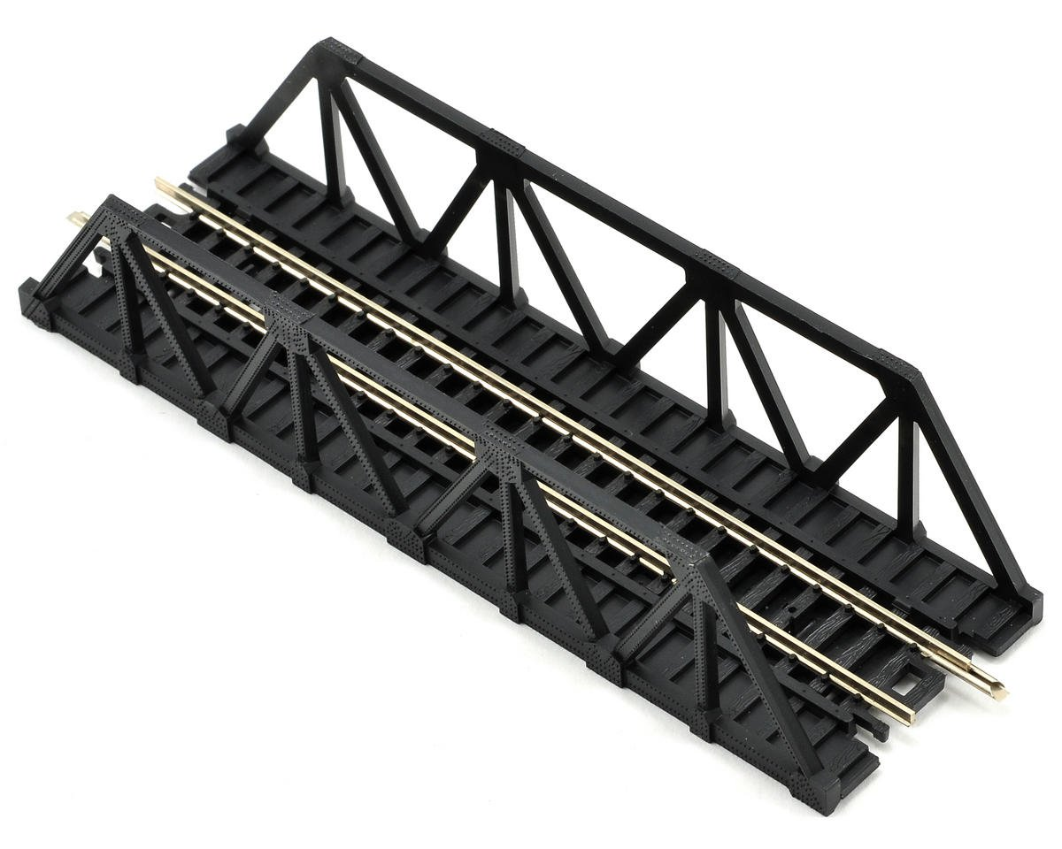 Atlas Railroad N-Gauge Code 80 Snap-Track Warren Truss Bridge