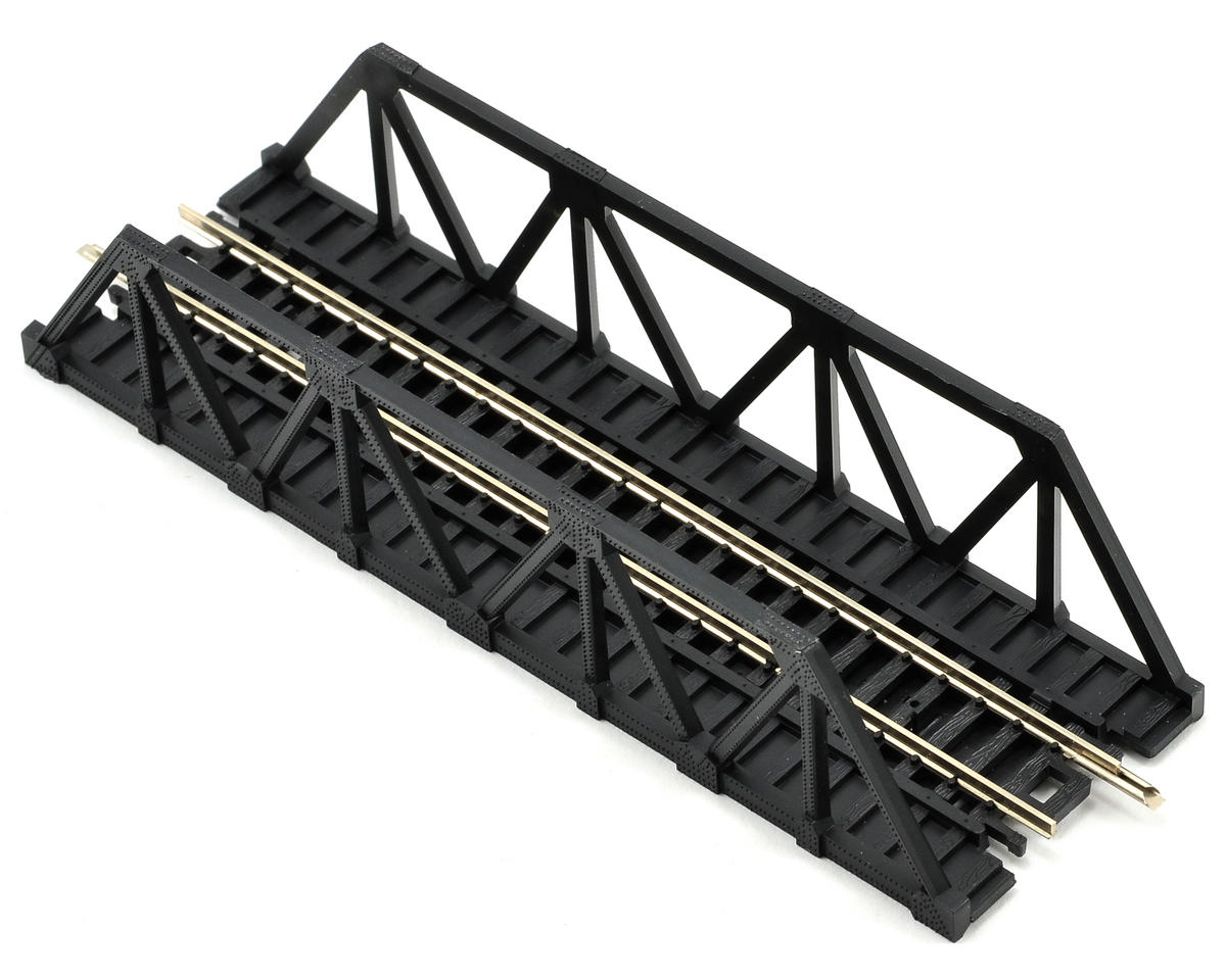 Atlas Model Railroad N-Gauge Code 80 Snap-Track Warren Truss Bridge