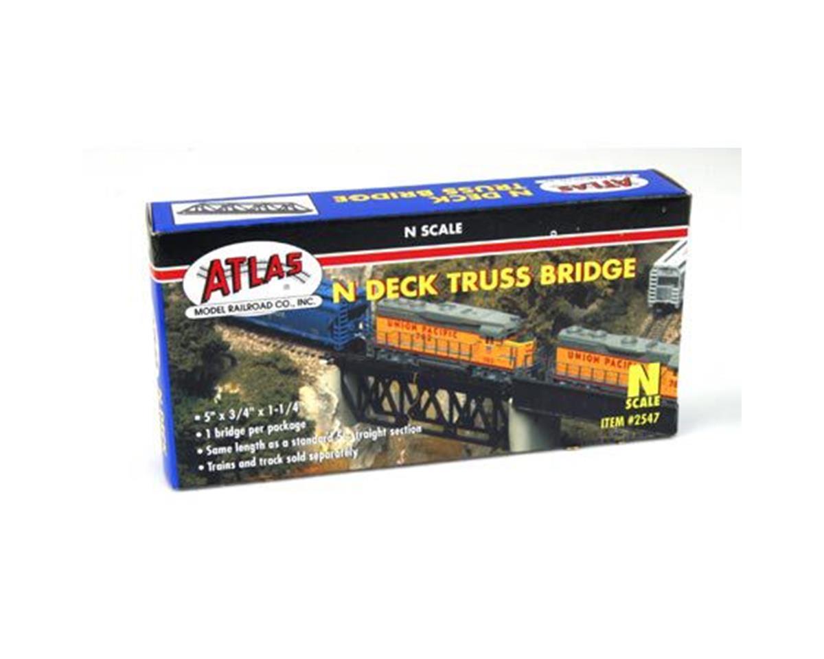 N Deck Truss Bridge by Atlas Railroad