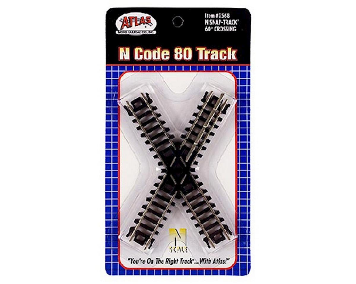 Atlas Railroad N Code 80 60 Degree Crossing