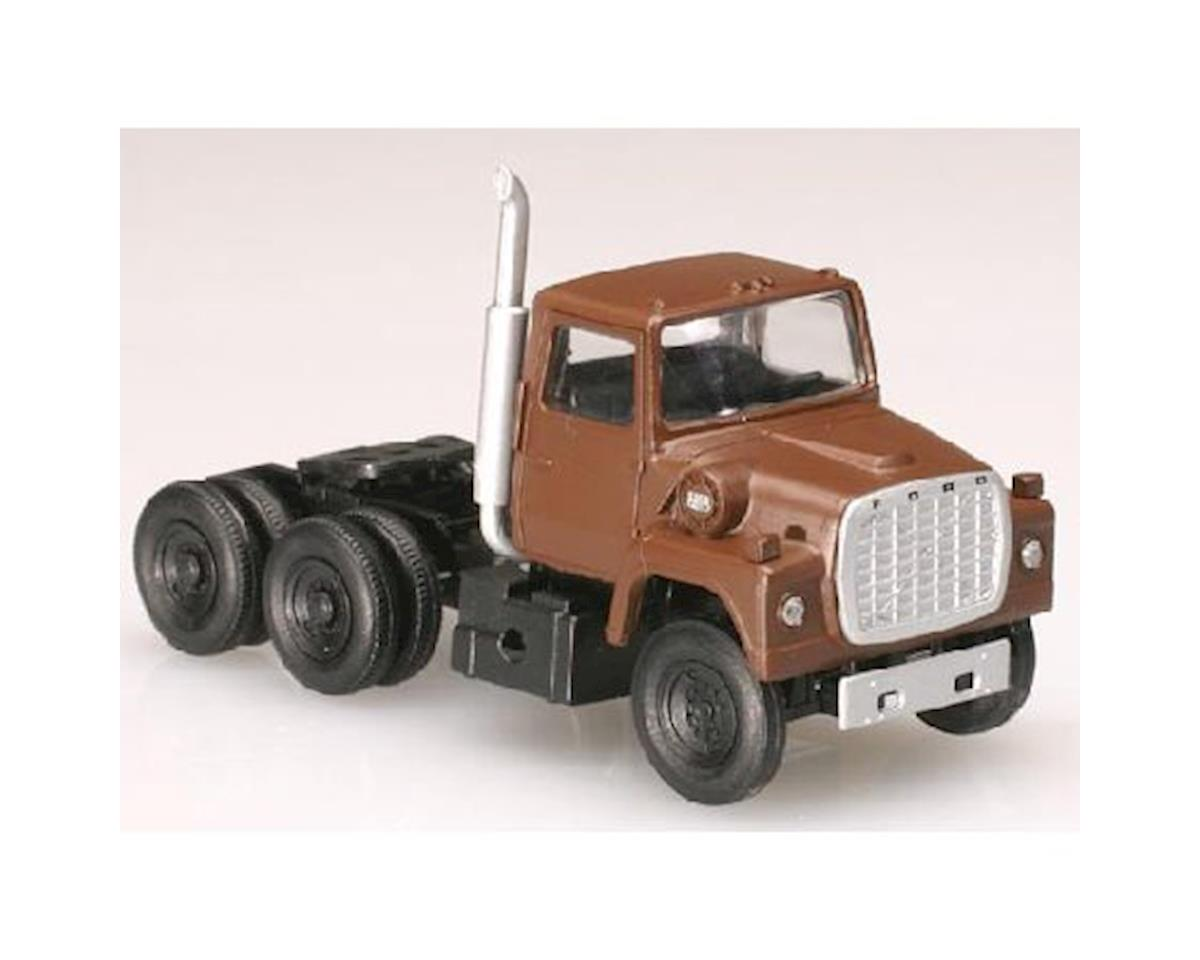 Atlas Railroad N 1984 Ford 9000 Tractor, Brown (2)