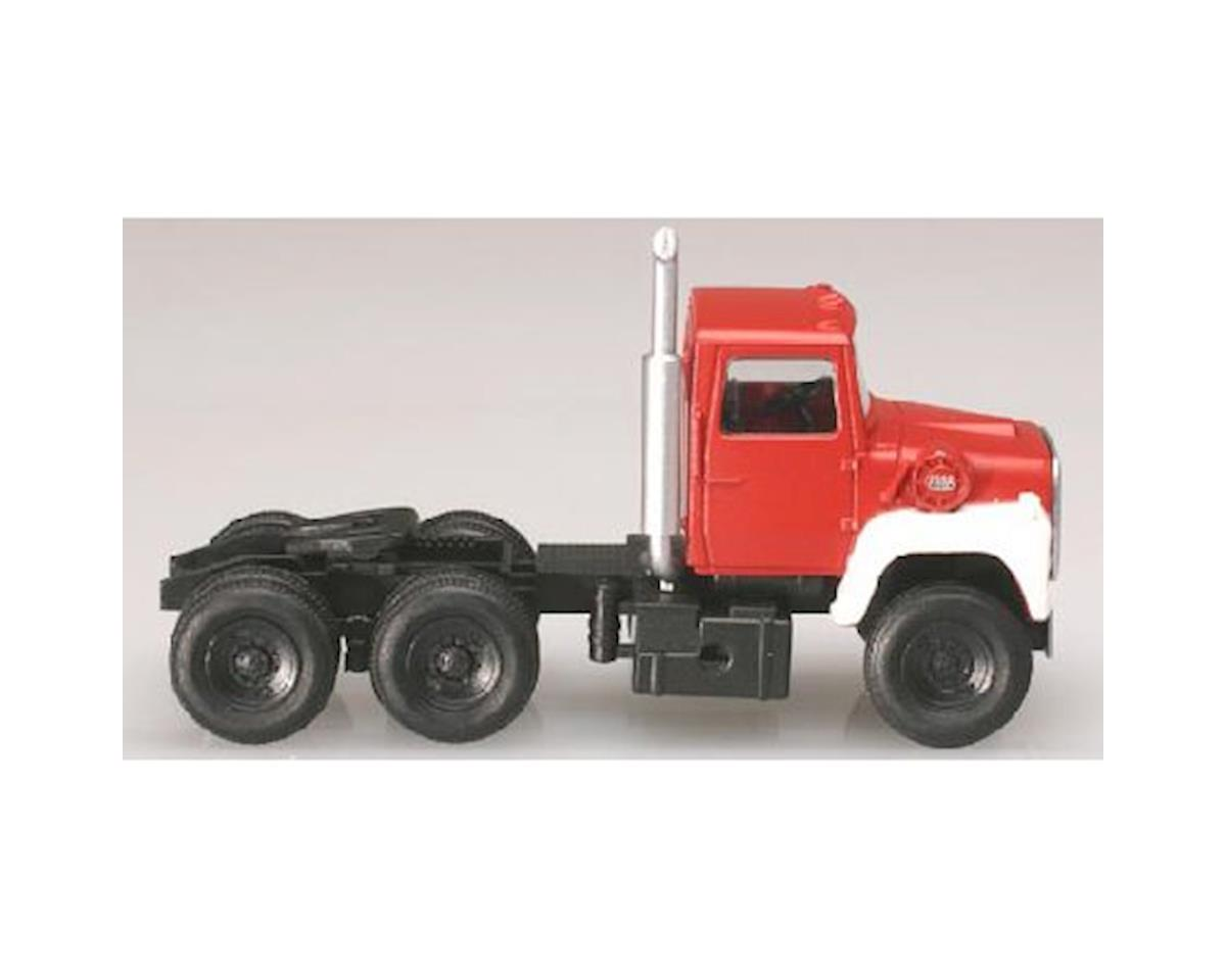 Atlas Railroad N 1984 Ford 9000 Tractor, Red/White (2)