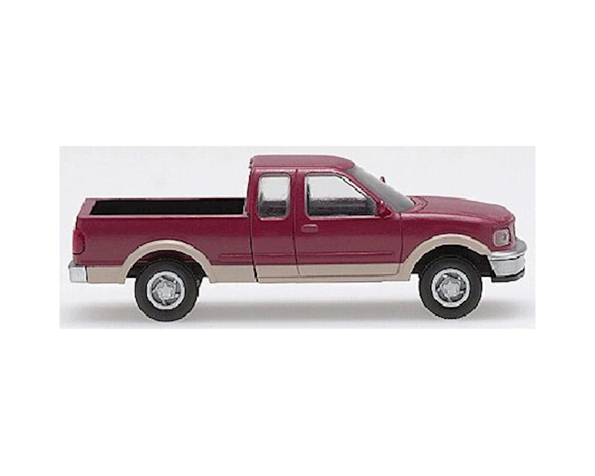Atlas Railroad N Ford F150 P/U, Red/Tan (2)
