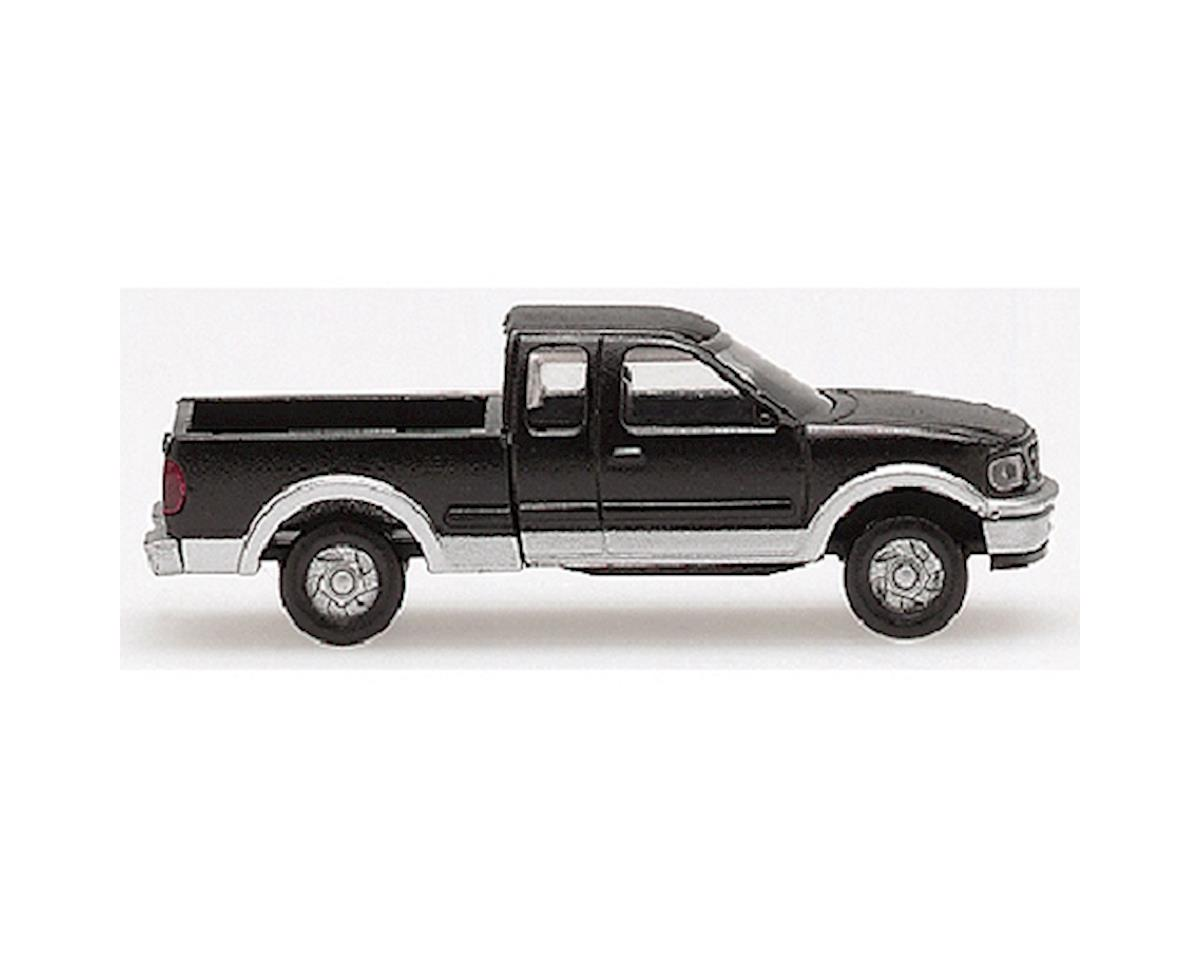 Atlas Railroad N Ford F150 Pickup, Black/Silver (2)
