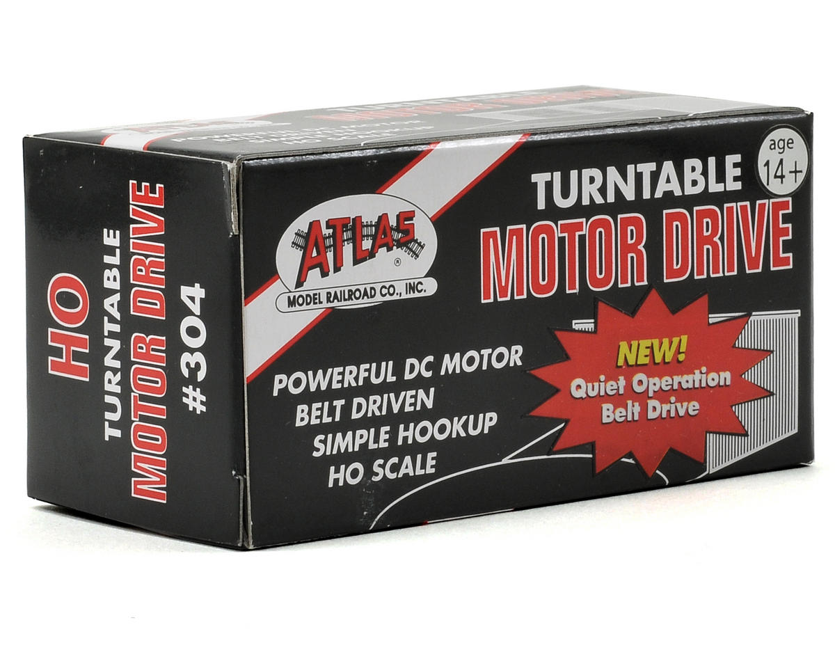Atlas Railroad HO-Scale Turntable Motor Drive Unit