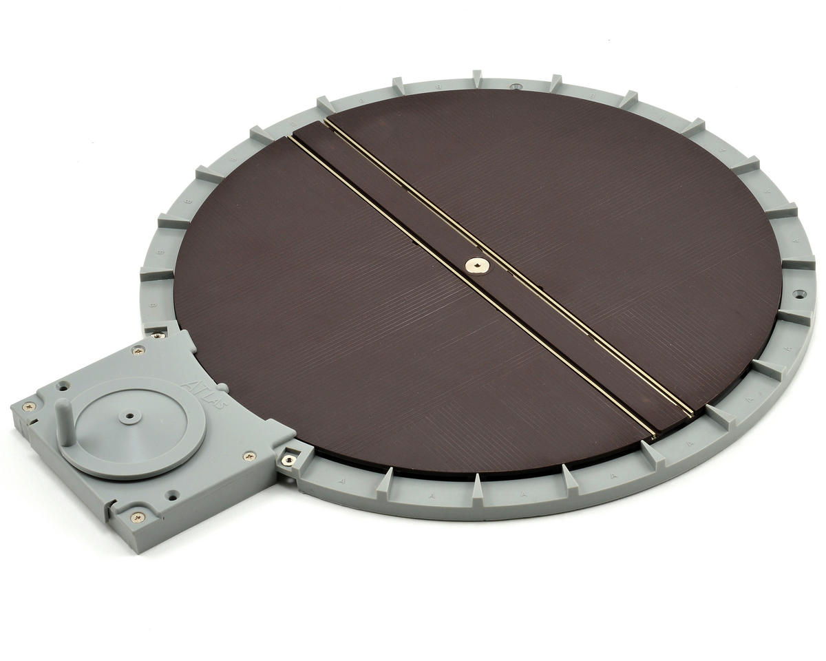 HO-Scale Manual Turntable