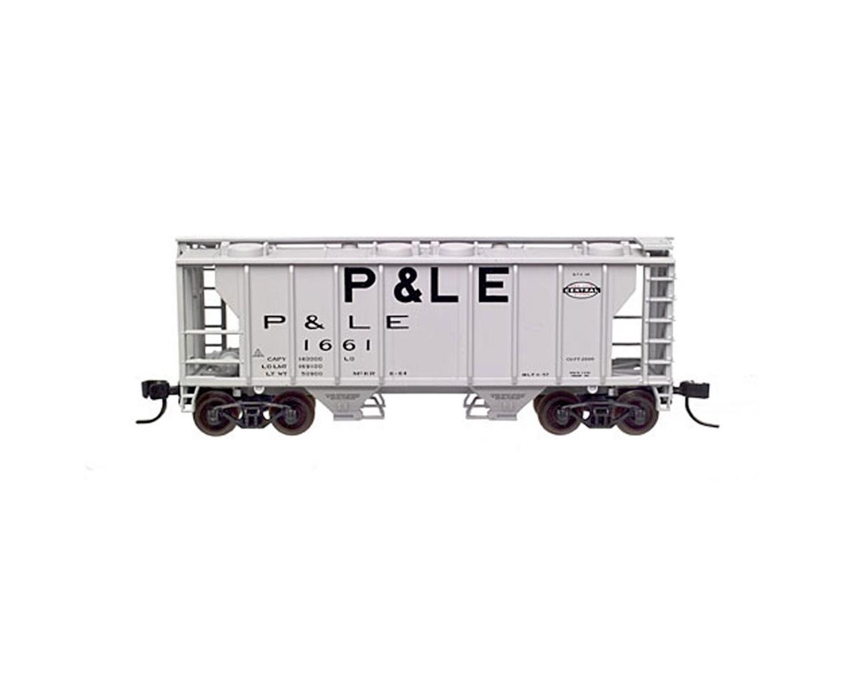 Atlas Railroad N RTR PS-2 2-Bay Covered Hopper, P&LE #1664