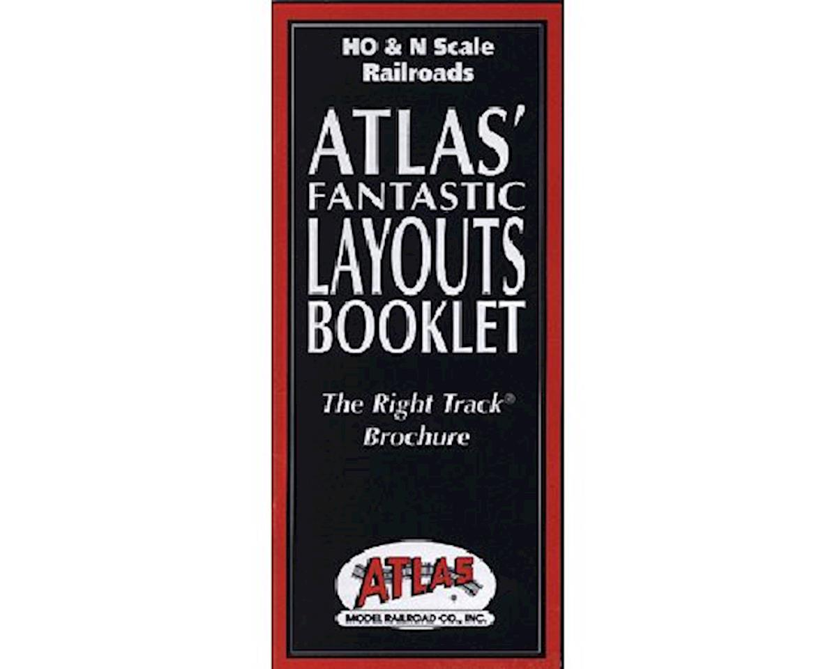 Atlas Railroad Fantastic Layouts Book