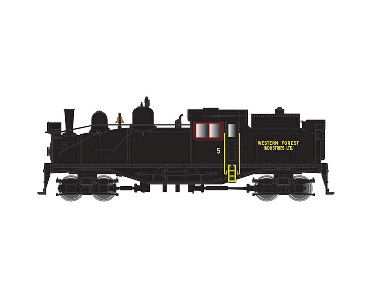 Atlas Railroad N 2-Truck Shay, Western Forest Industries #5