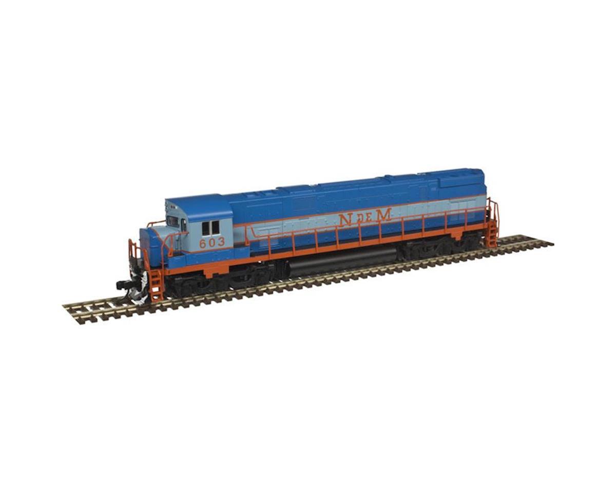 Atlas Railroad N C628 w/DCC & Sound, NDEM #603