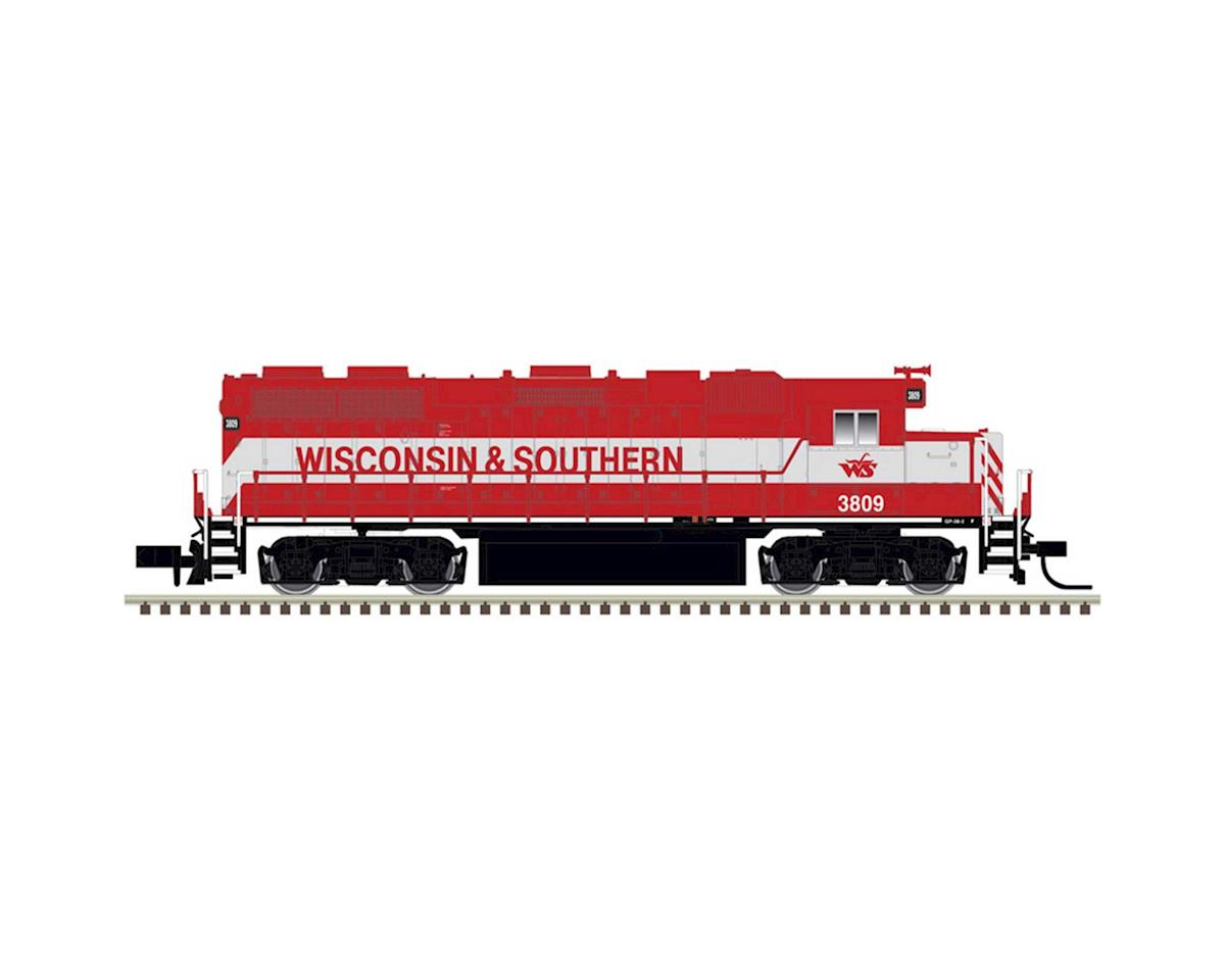 Atlas Railroad N GP38-2, WSOR #3809